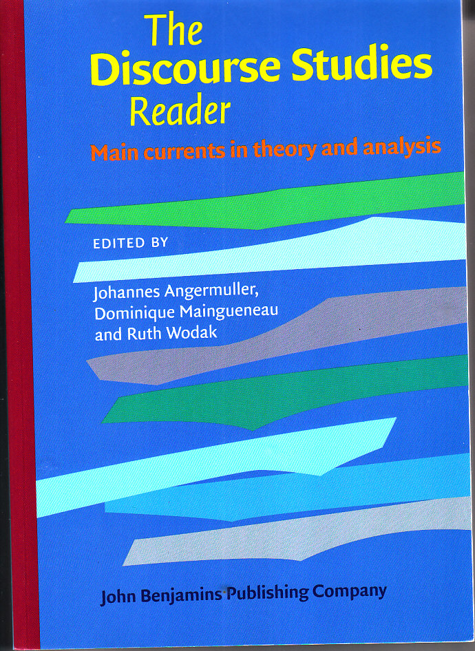 The Discourse Studies Reader