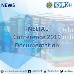 iNELTAL Conference 2019 Documentation