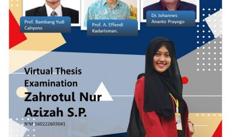 VIRTUAL THESIS EXAM: Zahrotul Nur Azizah S.P.