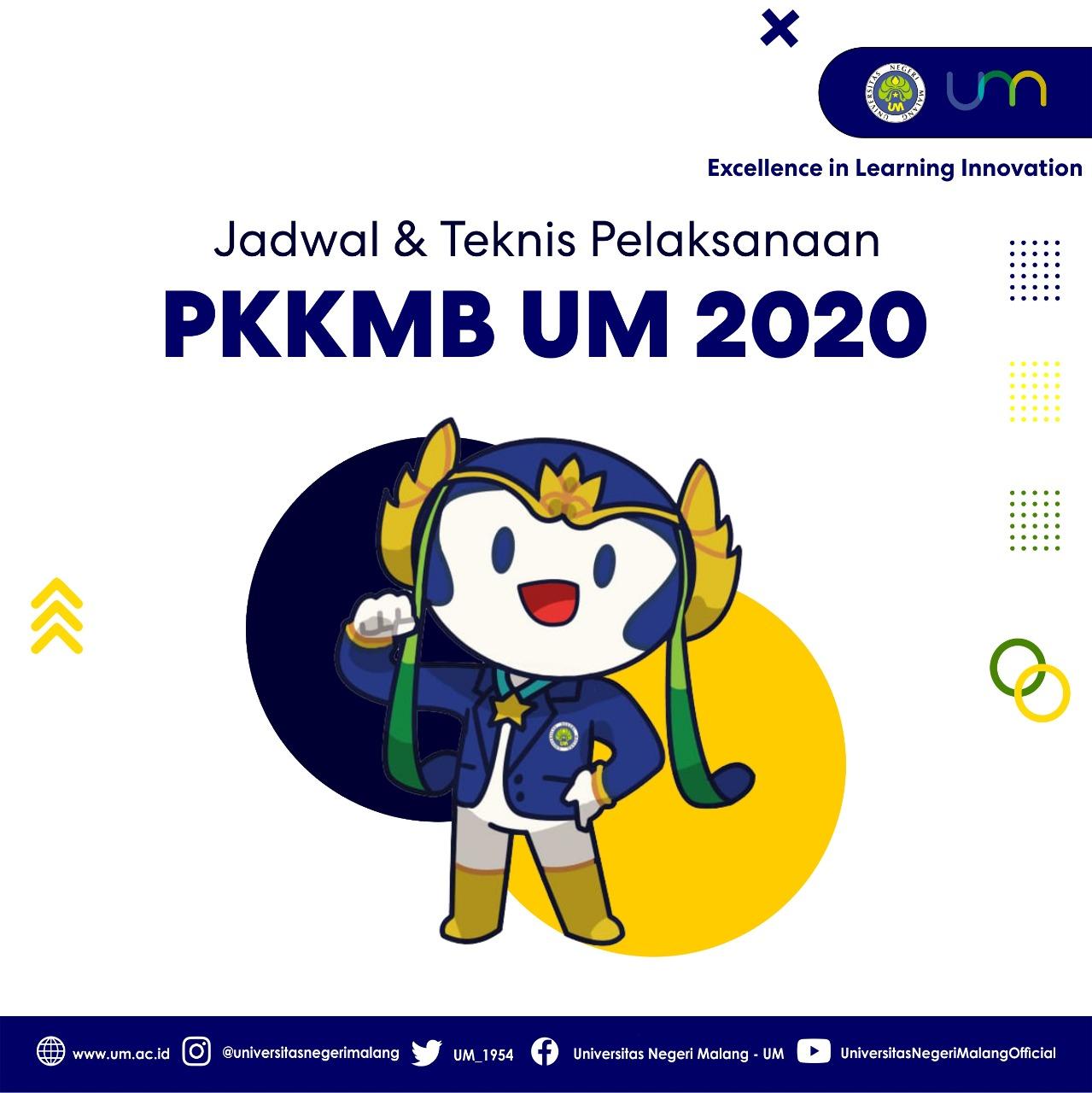 Sukseskan PKKMB UM 2020!