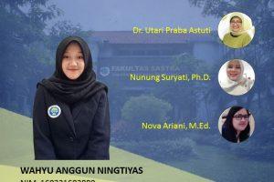Wahyu Anggun Ningtyas Exam Online