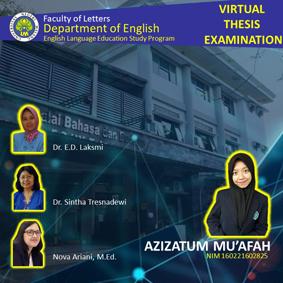 Virtual Thesis Examination Azizatum Mu'afah