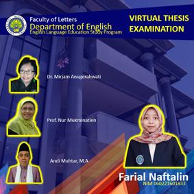 Virtual Thesis Examination Farial Naftalin