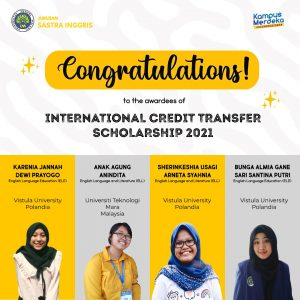 Congratulations to the Awardees ICTS 2021