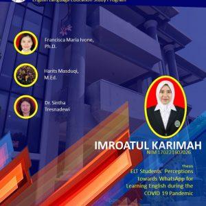 Virtual Thesis IMROATUL KARIMAH