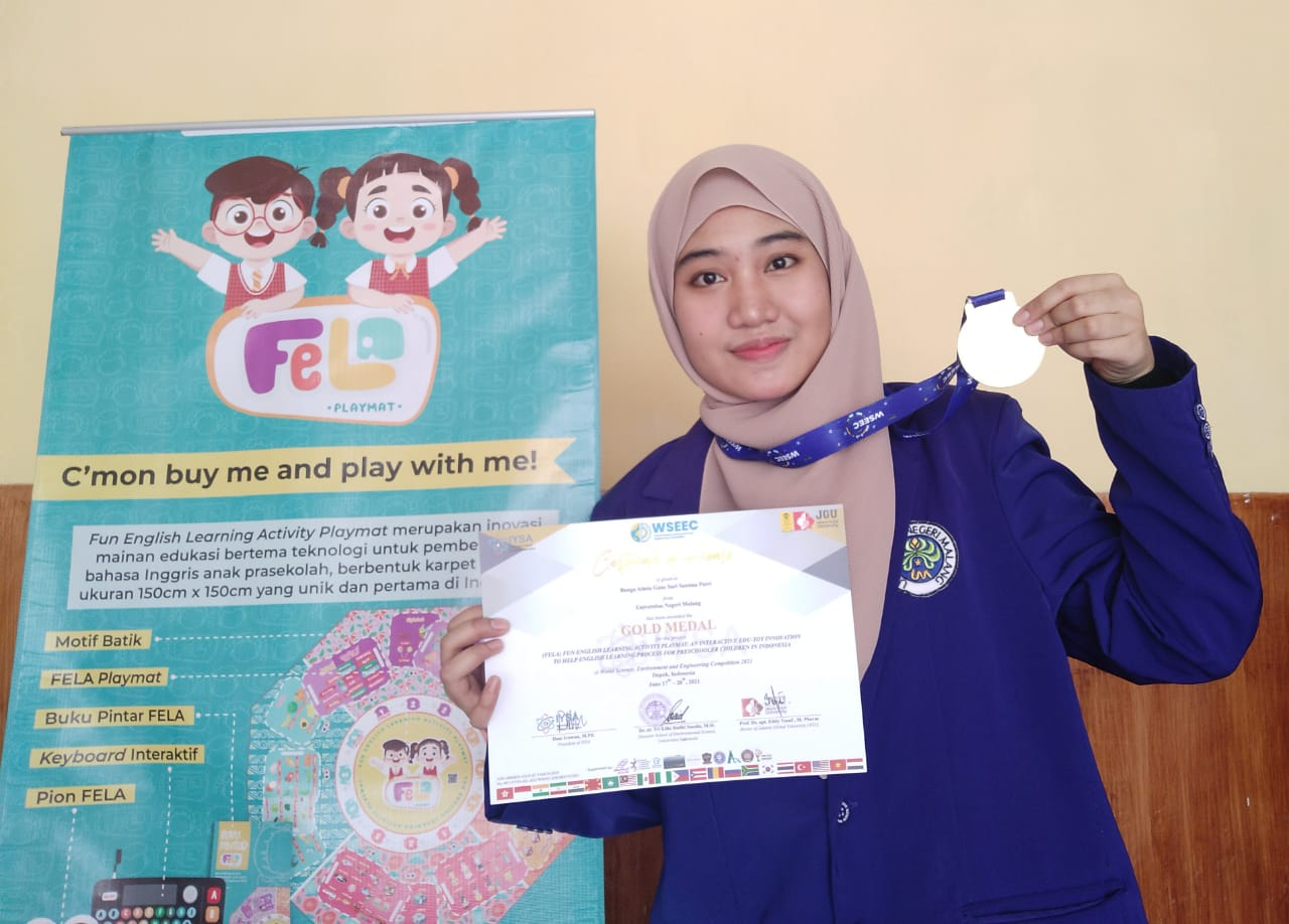 Felicitations for Bunga Almia Gane Sari Santina Putri
