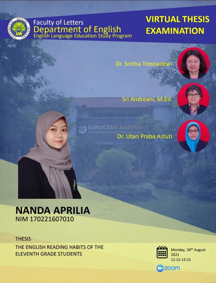 Virtual Thesis Examination NANDA APRILIA