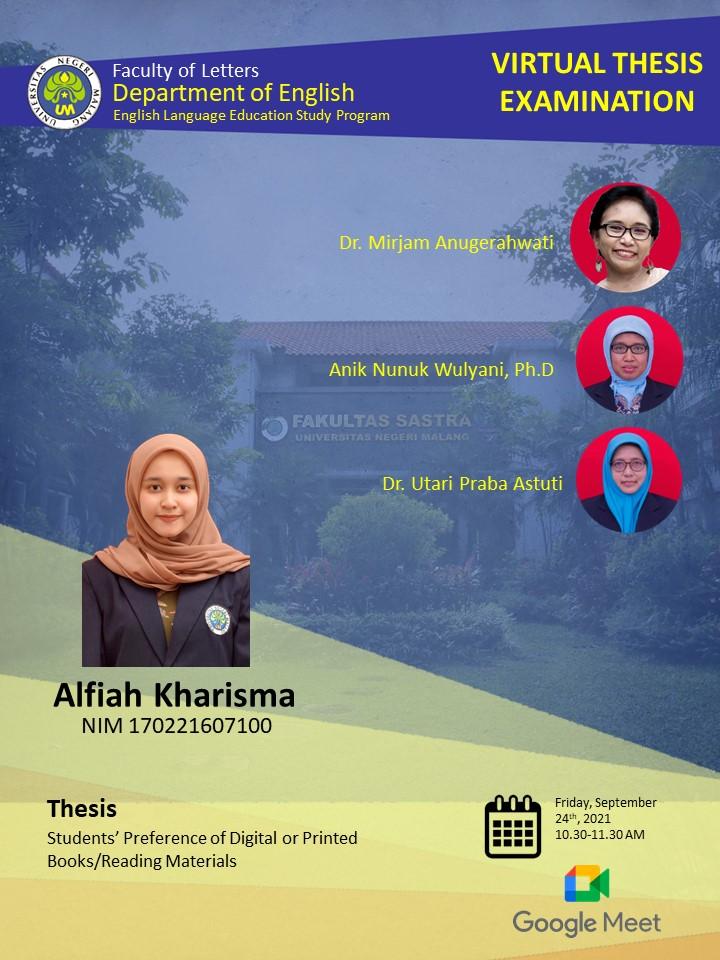 Virtual Thesis Exam ALFIAH KHARISMA