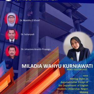 Virtual Thesis Exam MILADIA WAHYU KURNIAWATI