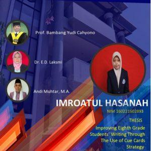 Virtual Thesis IMROATUL HASANAH