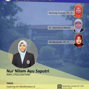Virtual Thesis Examination NUR NILAM AYU SAPUTRI