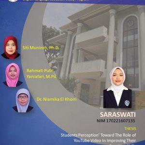 Virtual Thesis Examination SARASWATI