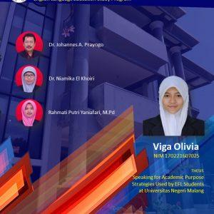 Virtual Thesis Examination VIGA OLIVIA